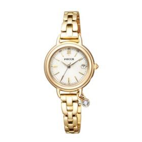 シチズンソーラーテック電波腕時計ウィッカアイボリーKL0-511-91