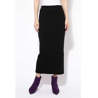 ROSE BUD / ローズ バッド [MORE12月号掲載]リブニットタイトスカート