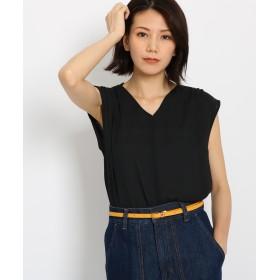 AG by aquagirl(エージー バイ アクアガール) ギャザーノースリーブシャツ