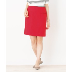 OPAQUE.CLIP(オペークドットクリップ) 【洗える】グログランラインスカート