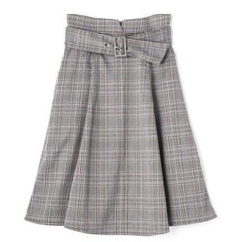PROPORTION BODY DRESSING / プロポーションボディドレッシング  チェックフレアスカート
