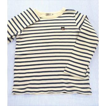 ミキハウスダブルビー MIKIhouse DOUBLE.B 長袖Tシャツ 120cm ボーダー トップス 男の子 女の子 キッズ 子供服 通販 買い取り