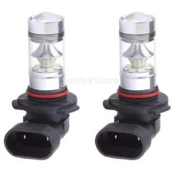 全2点パック 9005 HB3 100W 自動車用 ドライビングライト DRL LEDライト フォグライト バルブ