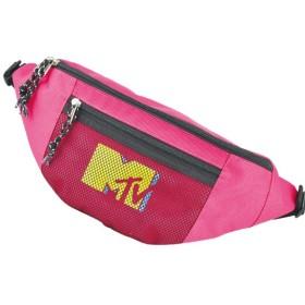 MTV エムティーブィー ロゴ メッシュポケット ボディバッグ