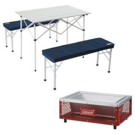 (送料無料)キャンプ用品 キッチンテーブル 一体型テーブル 【春キャンプセットS】BBQ直行セット 17SSSET-S