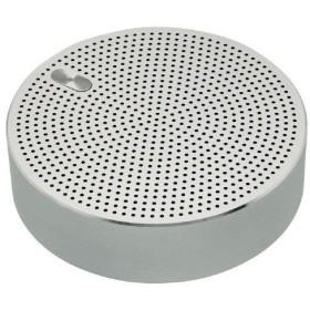 オウルテック Bluetooth ワイヤレスモバイルスピーカー シルバー OWL-BTSP03-SI 1台 OWLTECH