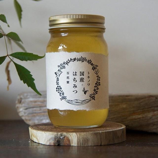 トネノワ国産はちみつ(百花蜜)300ml 蜂蜜 ハチミツ