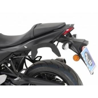 【ヘプコアンドベッカー(HEPCO&BECKER)】 サイドバッグステー  C-Bow(シーボウ) ブラック SV650 ABS
