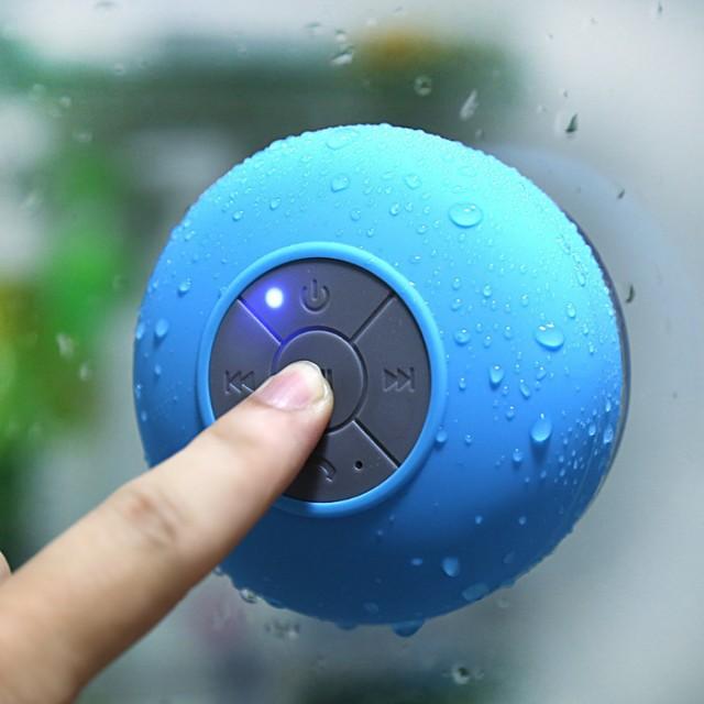 Bluetooth Speaker Waterproof / Speaker Bluetooth Bulat Tempel BTS-06 - Hitam: Rp 149.500 Rp 74.500