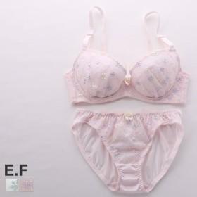 (プリンセスラボ)Princess Labo 3色 花柄 チュール ブラショーツ セット EF 大きいサイズ グラマー
