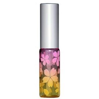 さくら咲く アトマイザー アルミキャップ グラデーションカラー プラスチックポンプ 58176 (MSサクラ ピンク/イエロー) 4ml