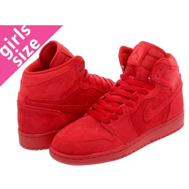 NIKE AIR JORDAN 1 RETRO HIGH BG ナイキ エア ジョーダン 1 レトロ ハイ BG GYM RED/GYM RED
