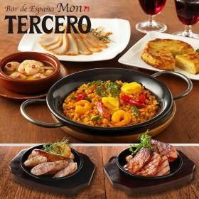 スペイン料理 モン・テルセーロ 惣菜6種セット パエージャ・アヒージョ・トルティージャ・スパイシーチキン・ベーコン・ソーセージ