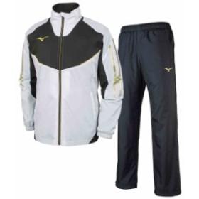 ミズノ  MIZUNO MC ウォーマーシャツ & パンツ ブレスサーモ 上下セット ホワイトブラック×ブラックゴールド