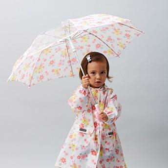 ミキハウス プッチー&うさこ 総柄プリント傘(45cm) ピンク