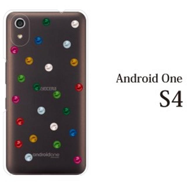 android One S4 yモバイルスマホケース 携帯ケース アンドロイド 携帯カバー スマホケース キャンディドット