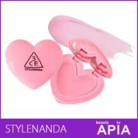 【送料無料・速達・代引不可】 3CE HEART POT LIP #TINTED PINK (3CE ハート ポッド リップ バーム) 韓国コスメ