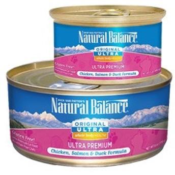 ナチュラルバランス オリジナルウルトラ キャット缶 ホールボディヘルス 170g×24 【ウェットフード/キャットフード/穀物フリー】