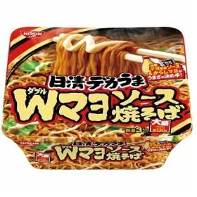 日清食品 日清デカうま Wマヨソース焼そば 153g