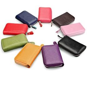 財布全般 - Love Berry カードケース カード収納 ミニ財布 ミニサイフ 本革 じゃばら カード入れ 小銭入れ 小さめ
