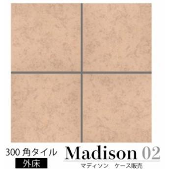 マディソン 02 ケース販売 300角 テラコッタ風の外床