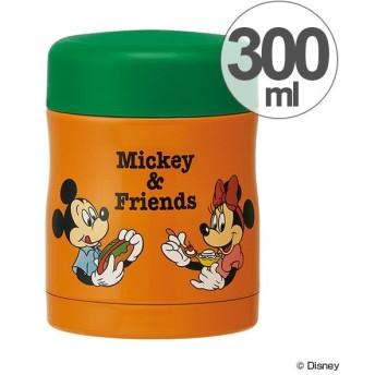 スープジャー 保温・保冷フードジャー 300ml ミッキー Mickey&Friends ピクニック ( お弁当箱 スープポット 保温容器 )