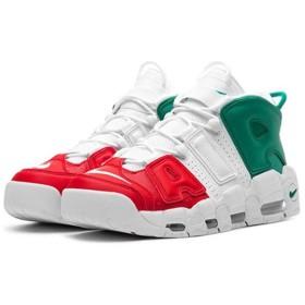 NIKE AIR MORE UPTEMPO 96 ITALY QS ナイキ モア アップ テンポ 96 イタリア QS UNIVERSITY RED/WHITE/LUCID GREEN av3811-600