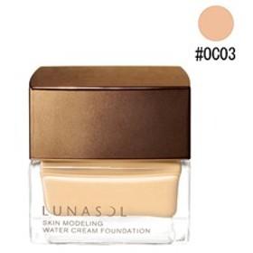 ルナソル LUNASOL スキン モデリング ウォータークリーム ファンデーション #OC03 30g 化粧品 コスメ