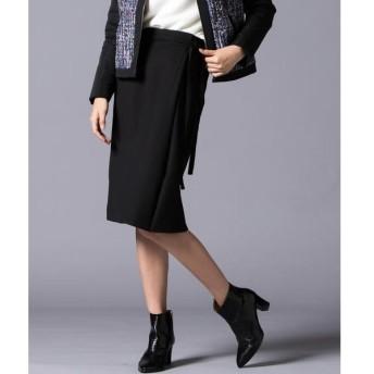 VICKY / ビッキー ベルト付きラップタイトスカート