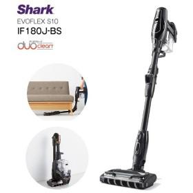 Shark シャークニンジャ 掃除機 EVOFLEX コードレス サイクロン掃除機 コードレスクリーナー スティックタイプ S10 IF180J-BS
