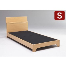 ベッド ベッドフレーム シングル 軒先渡し 幅98cm 全長204cm 高81cm コンセント 小棚 組立 宮付き おしゃれ