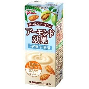 グリコ アーモンド効果 砂糖不使用 ( 200mL12本入 )/ アーモンド効果