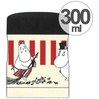 スープジャー 保温・保冷フードジャー 300ml ムーミン ストライプ ( お弁当箱 スープポット 保温容器 )