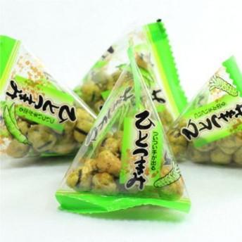 わさび豆テトラパック500g まとめ買い用大袋 わさび味のえんどう豆豆菓子