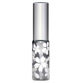 さくら咲く アトマイザー アルミキャップ グラデーションカラー プラスチックポンプ 58176 (MSサクラ ホワイト) 4ml