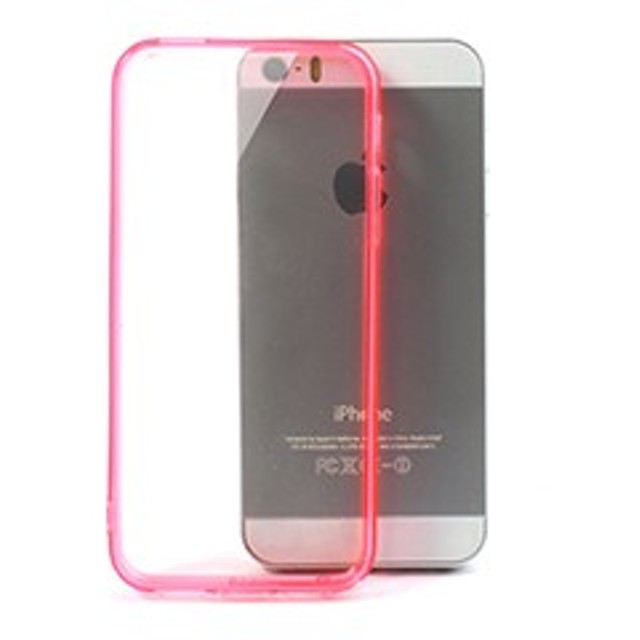 iPhoneSE / iPhone5s  iPhone SE iPhone 5s 超薄型軽量クリスタルハードケースカバー ピンク 電化製品 iPhone5 / iPhone 5s Case