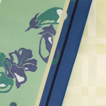 浴衣・着物の帯 - Ainokajitsu 半巾帯 浴衣帯 半幅帯 ゆかた帯 細帯 小袋帯 日本製 個性派 女性浴衣 長尺 野菜 グリーン 黄色 大正ロマン 大正浪漫 大柄 リバーシブル
