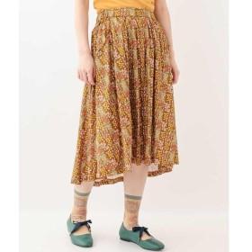 Jocomomola / ホコモモラ FLOR MAGIA フラワープリントフレアスカート