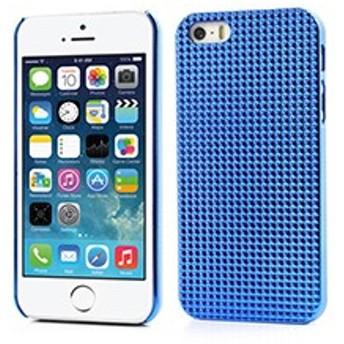 iPhoneSE / iPhone5s iPhone SE iPhone 5s 3Dピラミッドハードカバーケース ダークブルー 電化製品 iPhone5 / iPhone 5s Case