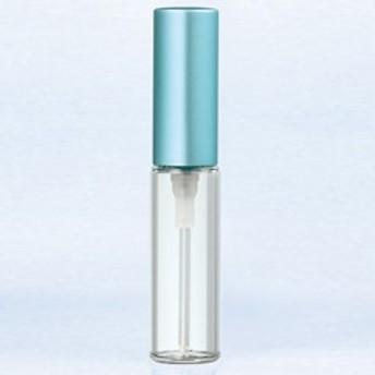 【香水 ヤマダアトマイザー】YAMADA ATOMIZER グラスアトマイザー シンプル 5206 クリアボトル/キャップマットブルー 4ml