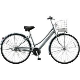 27型 自転車 アルベルト L型(M.スパークルシルバー/5段変速/ベルトモデル) A75LB【2019年モデル】