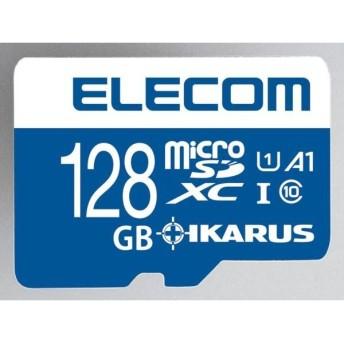 エレコム MFMS128GU11IKA 128GB・microSDXCカード IKARUS付 UHS-I U1 MF-MS128GU11IKA