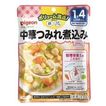 ■ピジョン 食育レシピ 1食分の鉄Ca 中華つみれ煮込み 120g /食育レシピ ベビーフード (毎)