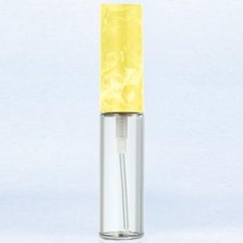 【香水 ヤマダアトマイザー】YAMADA ATOMIZER グラスアトマイザー プラスチックポンプ 無地 4343 キャップ マーブルイエロー 4ml