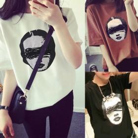 Tシャツ - Miss R 【Miss R PINK】何枚あっても便利なプリントTシャツ!全99シリーズ☆(73-90)