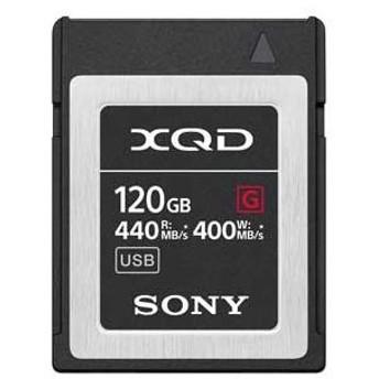 ソニー XQDメモリーカード 120GB SONY Gシリーズ QD-G120F 返品種別A