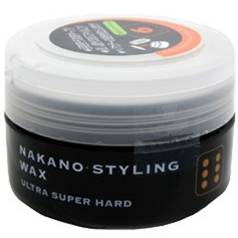 【ナカノ ヘアワックス】ナカノ NAKANO スタイリング ワックス 6 ウルトラスーパーハード 90g ヘアケア