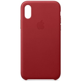 iPhone XS レザーケース (PRODUCT)RED MRWK2FEA