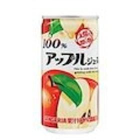 ジュース アップル 100%  190g 缶 30 本  ( 30 本    1 ケース ) サンガリア