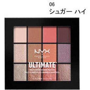 NYX Professional Makeup(ニックス) UT シャドウ パレット ミックス フィニッシュ 06 カラー・シュガー ハイ